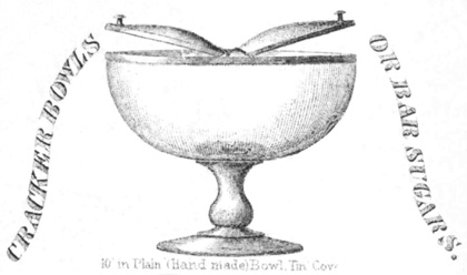 Cracker bowl or bar sugar, Bakewell Pears and Co. catalog, 1875, courtesy Thomas Pears IV