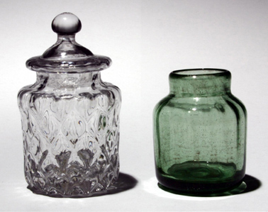 English and American Cosmetic Jars (21C,14C)
