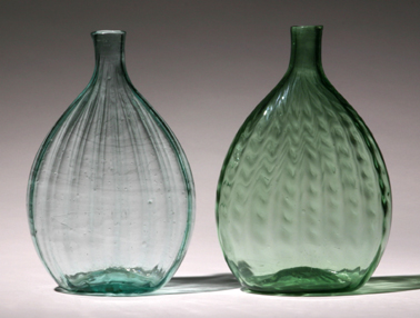 Flasks from Mantua and Kent, Ohio (95J,98J)